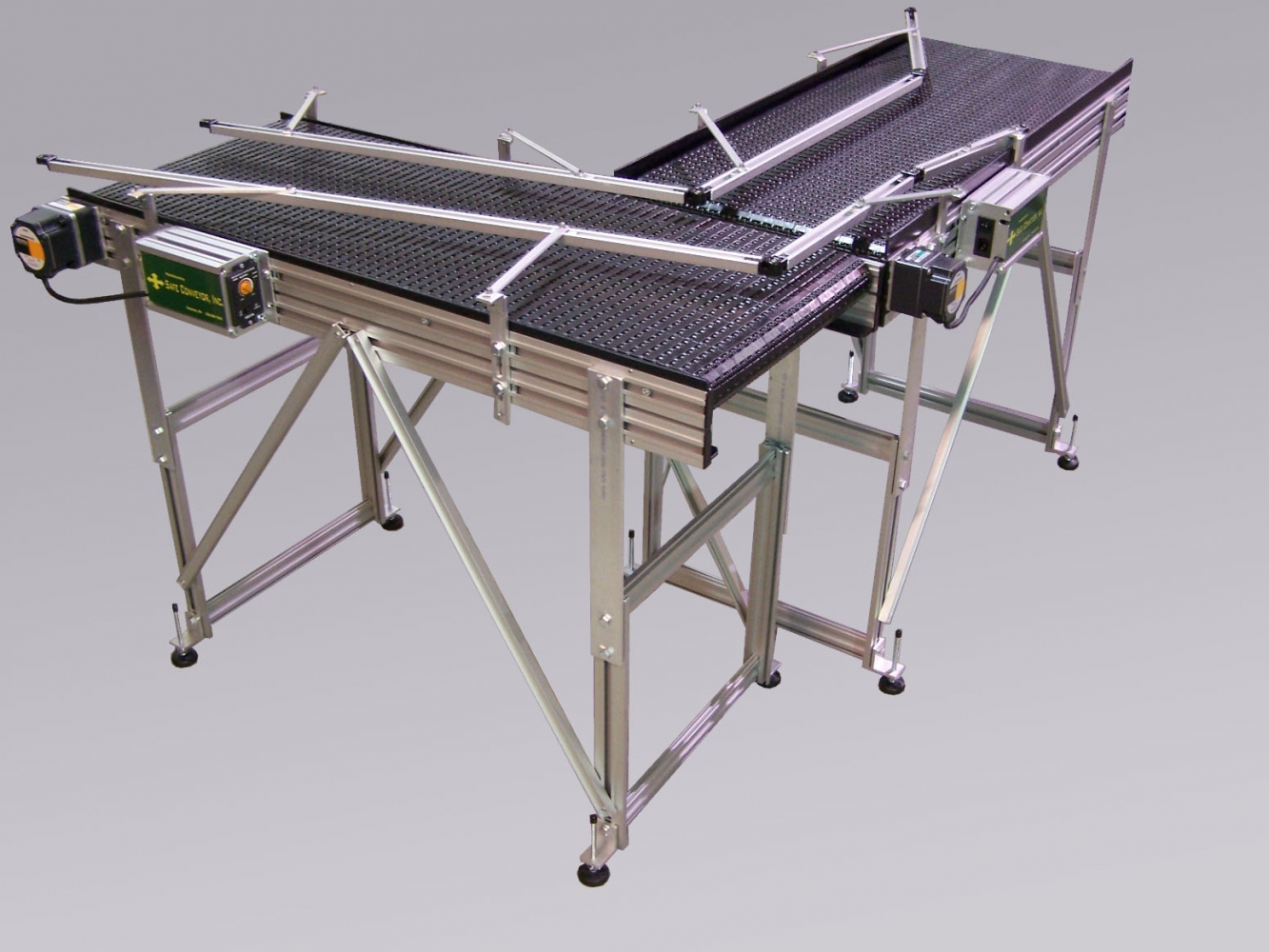 Adjustable Height Conveyor Stands