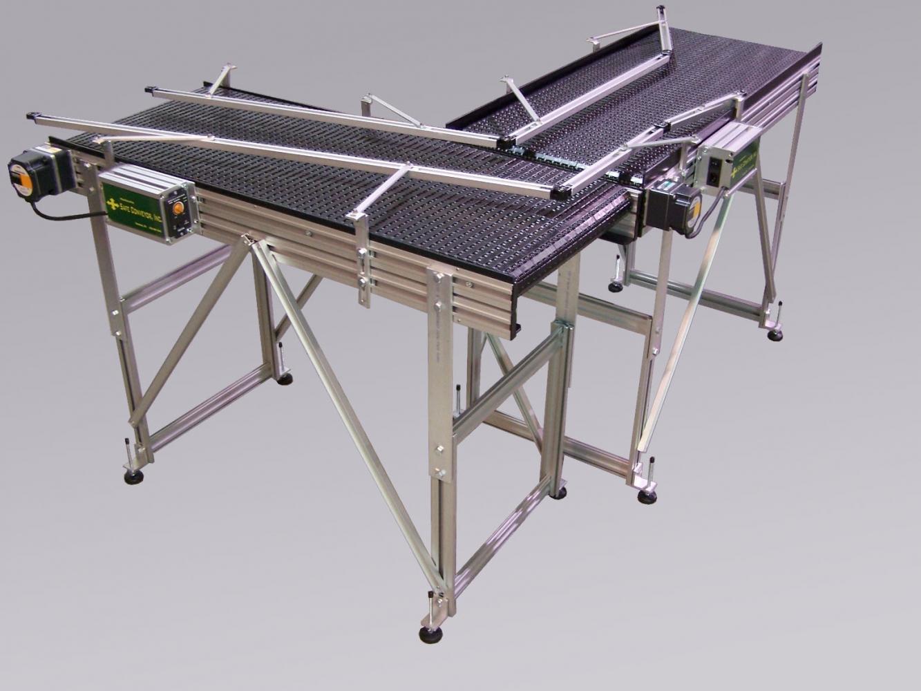 Adjustable Height Conveyor Stands