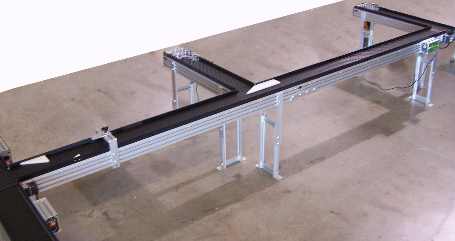 Plastic Modular Belt Conveyor System